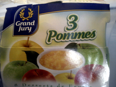 8 Desserts de Fruits, 3 Pommes - Product - fr
