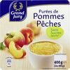 Purée de pommes pêches - Product