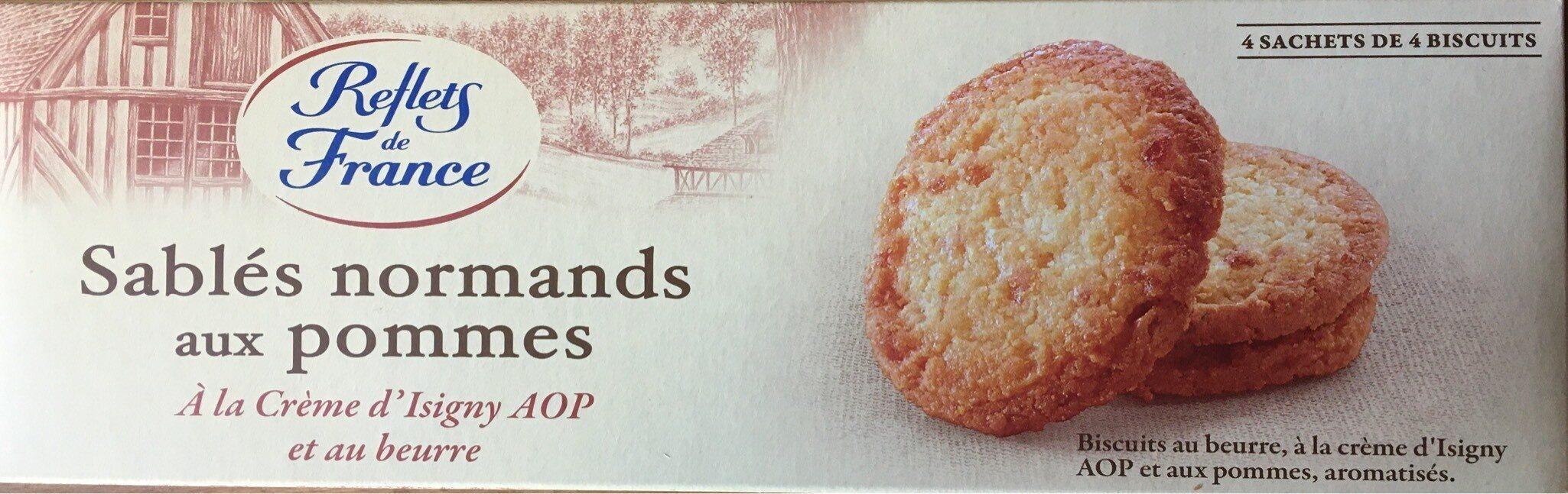 Sablés aux pommes à la crème fraîche d'Isigny AOP et au beurre - Product - fr