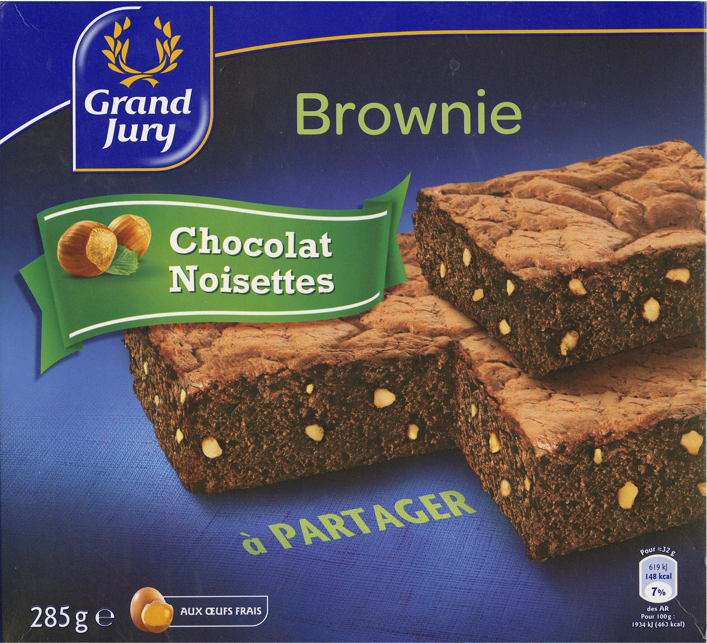 Brownie chocolat noisette - Produit - fr