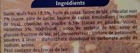 Brownie chocolat noisette - Ingrédients - fr