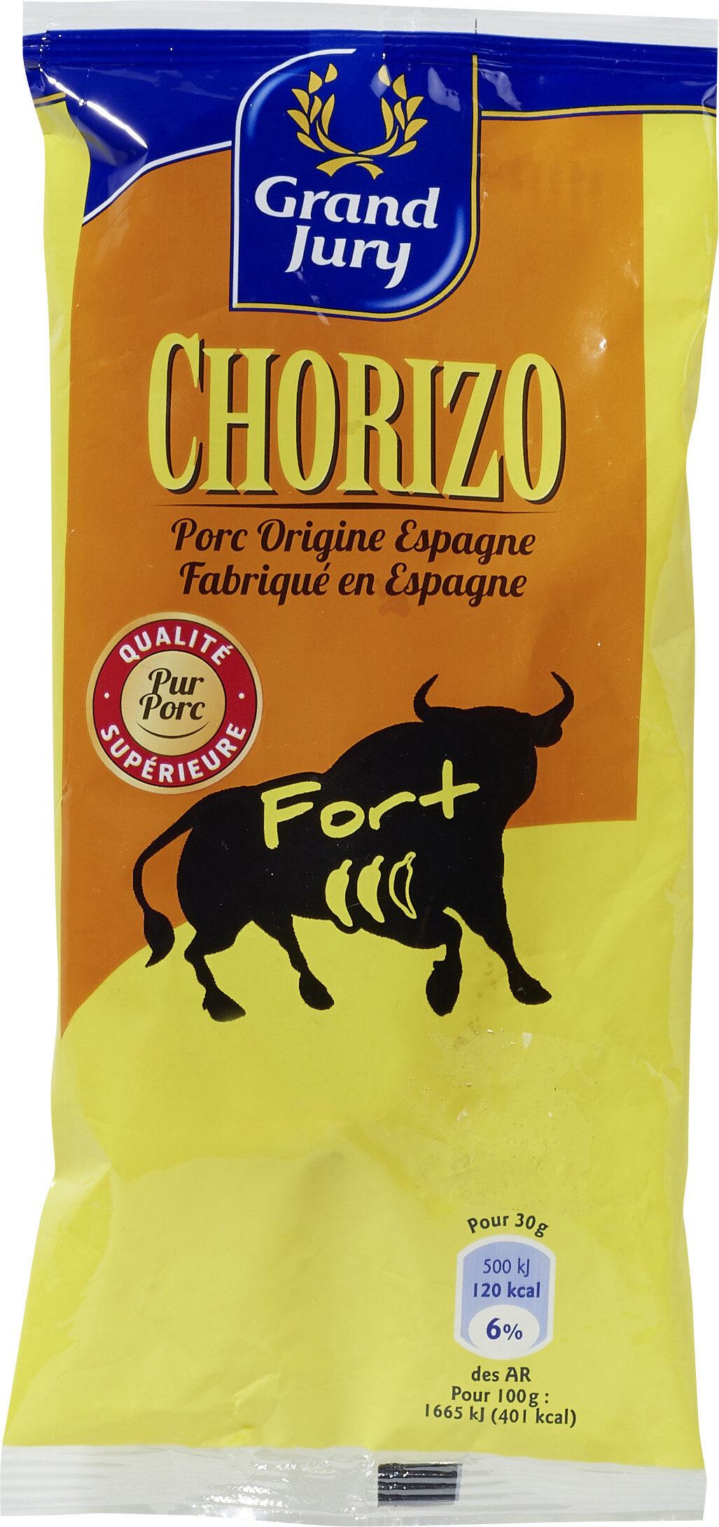 Chorizo fort - Produit - fr