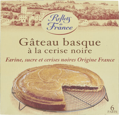 Gâteau Basque à la cerise noire - Product