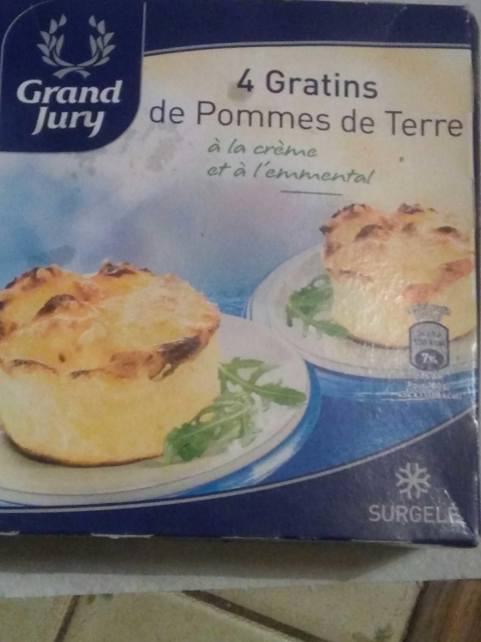 4 Gratins de Pommes de Terre Surgelés - Product