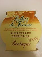 Rillettes de sardine de Bretagne - Product - fr
