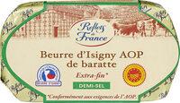 Beurre d'Isigny AOP de baratte DEMI-SEL - Prodotto - fr