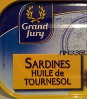 sardines huile de tournesol - Produit
