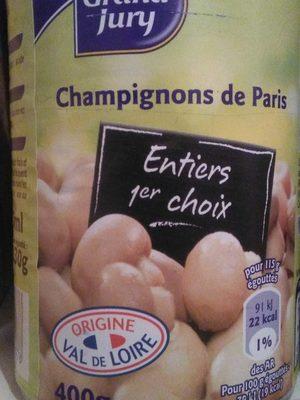 Bte 1 / 2 Champignons 1er Choix Grand Jury - Produit