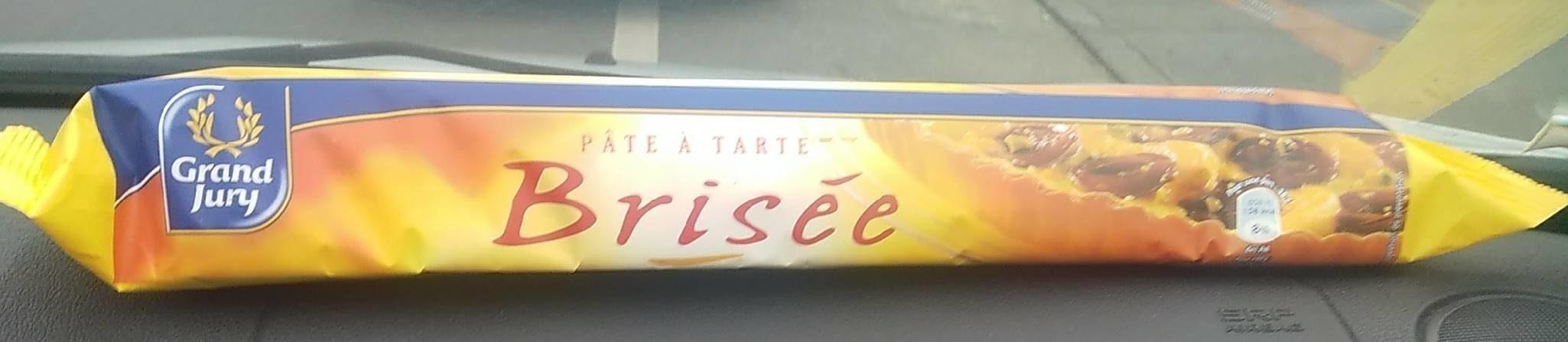 Pâte à tarte brisée - Produit