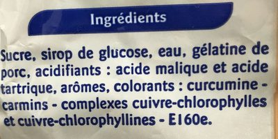 Frit'Acid - Ingrediënten - fr