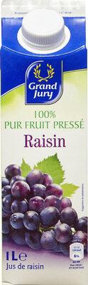 100% pur fruit pressé Raisin - Prodotto - fr