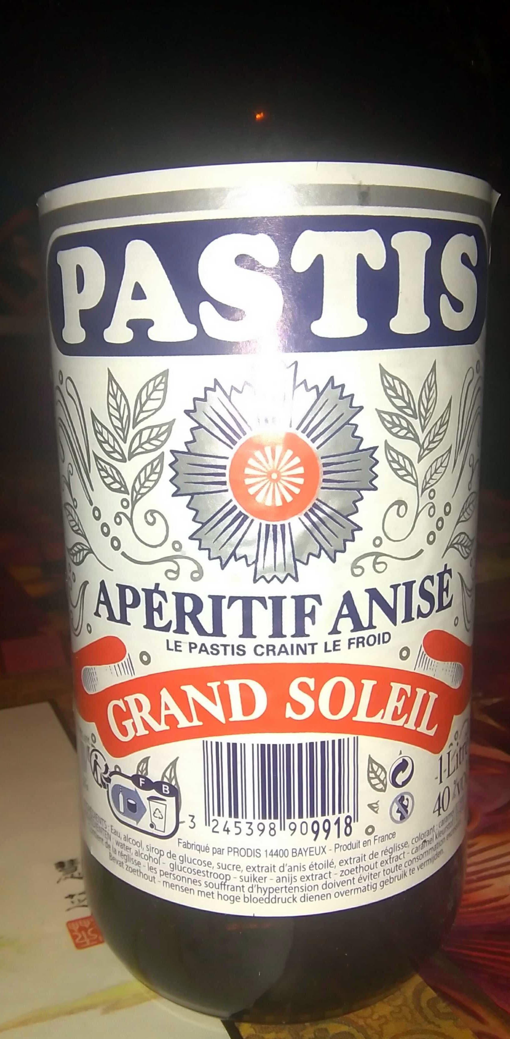 Pastis - Produit