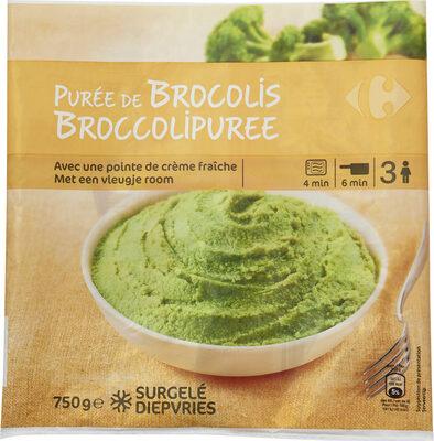 Purée de brocolis - Produit - fr