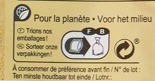 Purée de brocolis - Instruction de recyclage et/ou informations d'emballage - fr