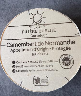Camembert de Normandie AOP (20% MG) au lait cru - Produit - fr