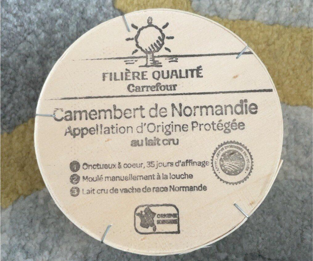Filière qualité - Camembert de Normandie - Product - fr