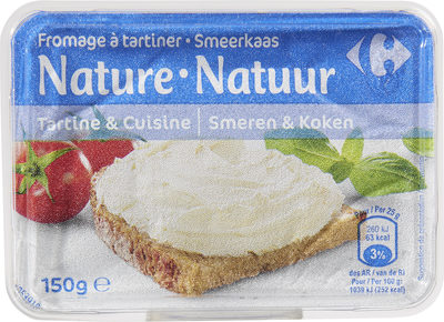 Fromage à tartiner Nature - Product