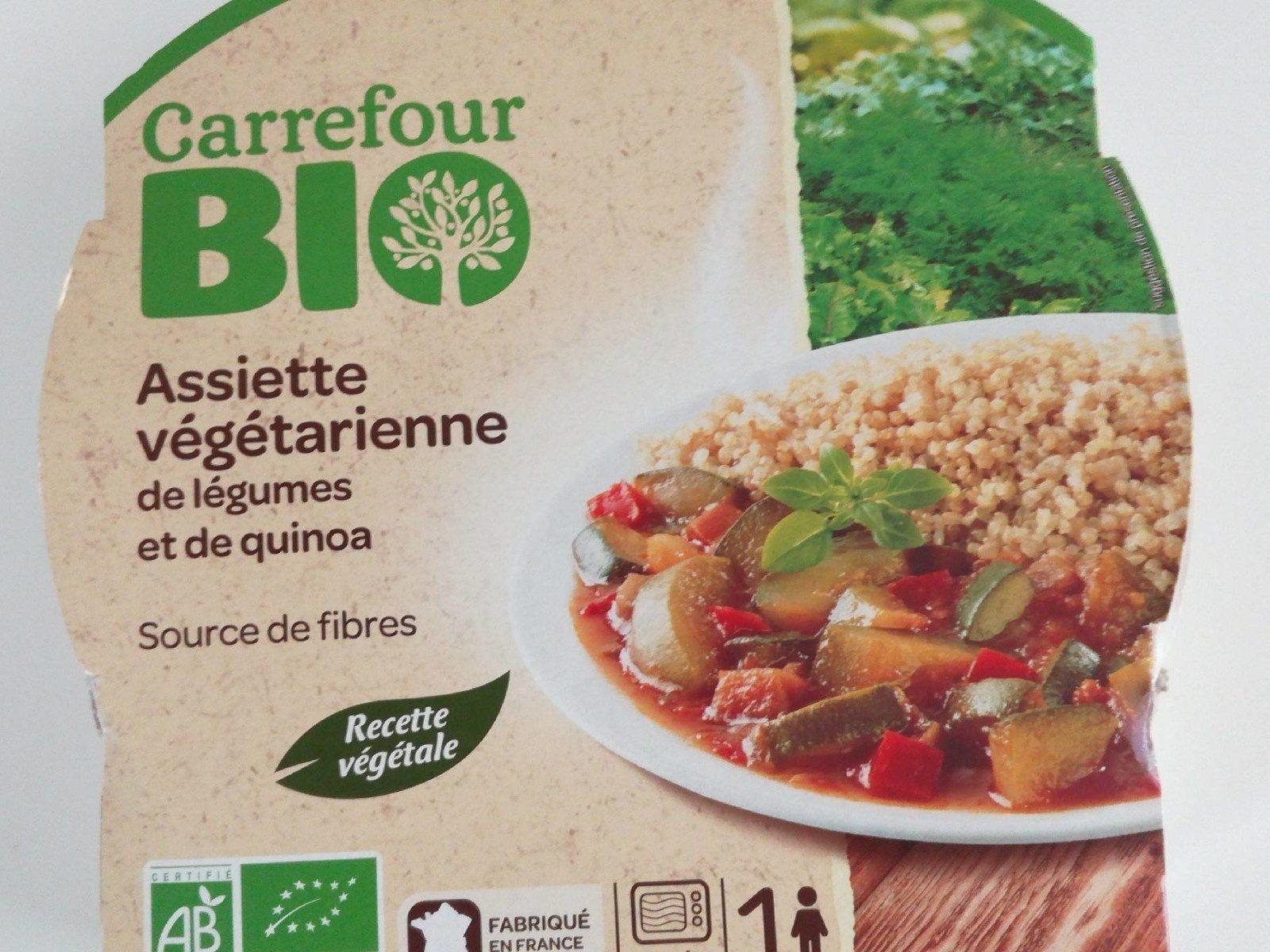 Assiette végétarienne de légumes et de quinoa - Produit - fr
