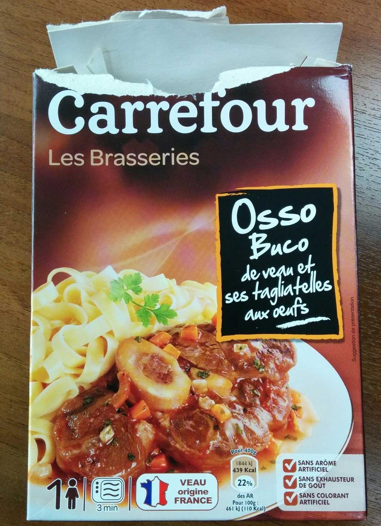 Osso Bucco Les Brasseries - Produit