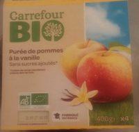 Purée de pommes à la vanille - Produit - fr