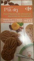 Biscuits p'tit dej au pépites de chocolat, abricots et amandes - Produit - fr