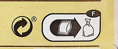 Mini röstis - Istruzioni per il riciclaggio e/o informazioni sull'imballaggio - fr