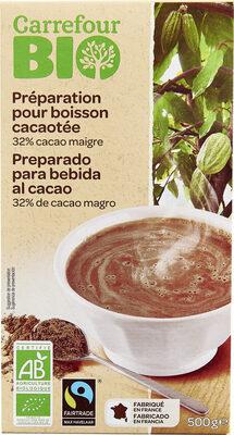 Préparation pour boisson cacaotée 32% de cacao maigre - Product