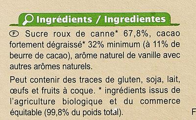 Préparation pour boisson cacaotée 32% de cacao maigre - Ingredients - fr