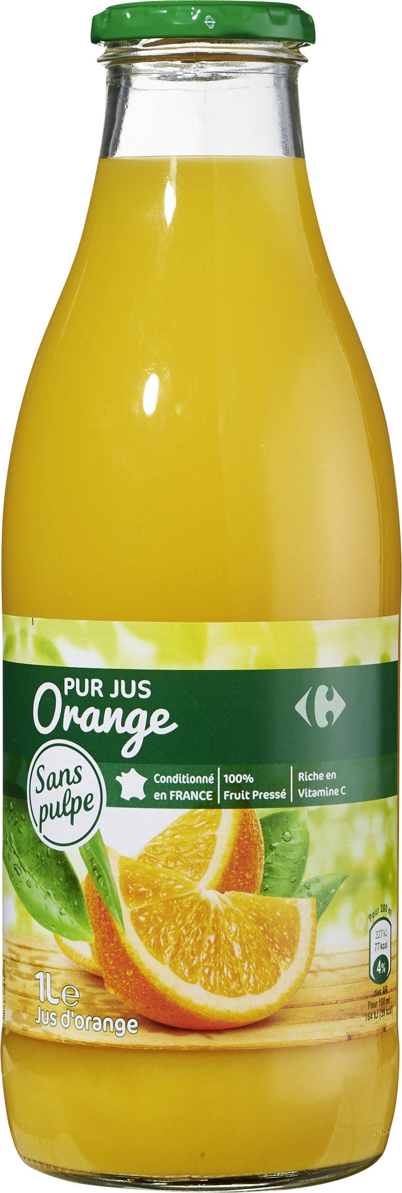 PUR JUS Orange pressé - Product - fr