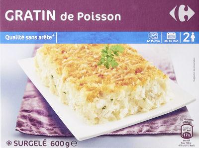 Gratin De Poisson - Produit