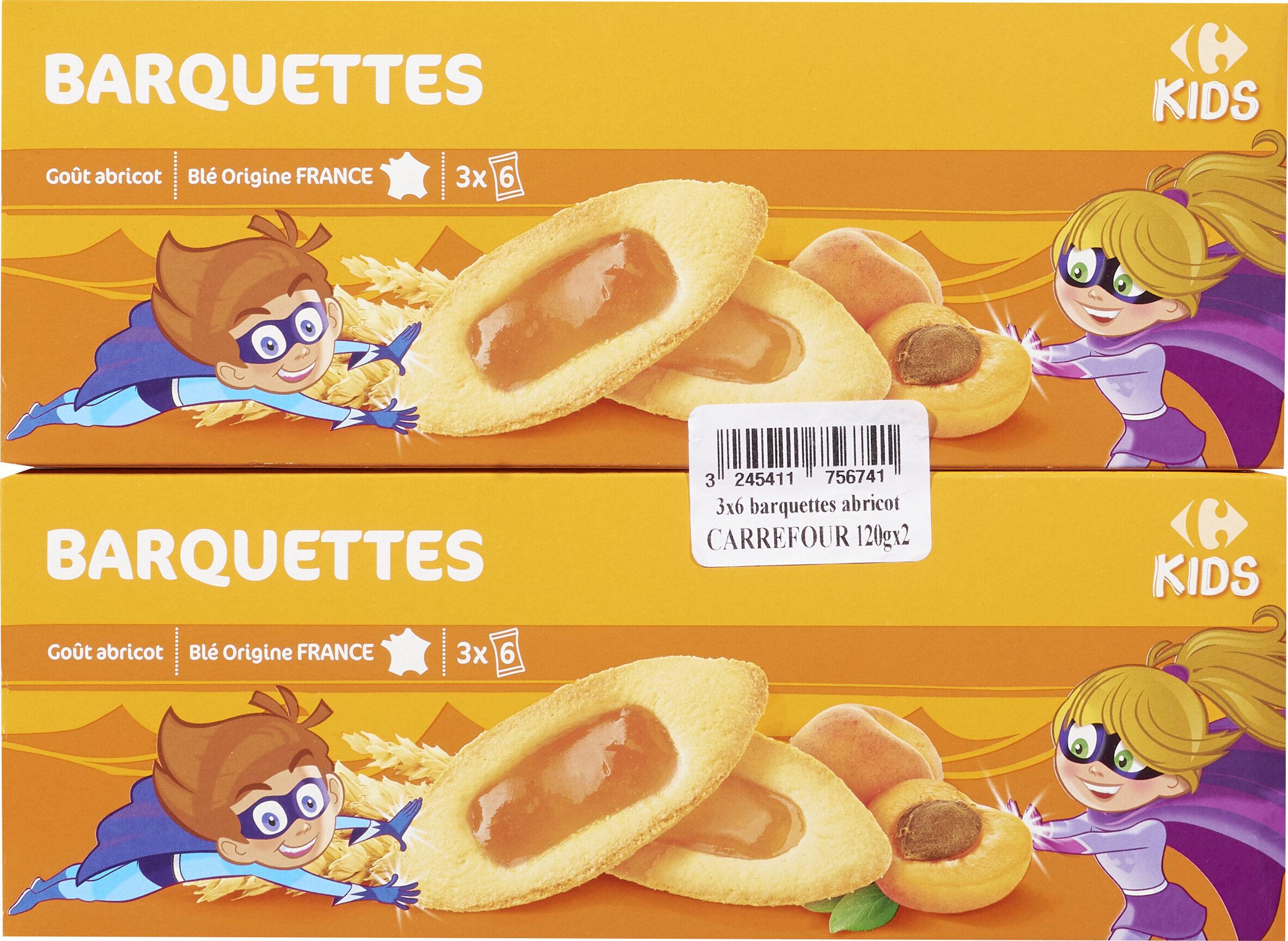 Barquettes abricots par lot de 2 - Product - fr