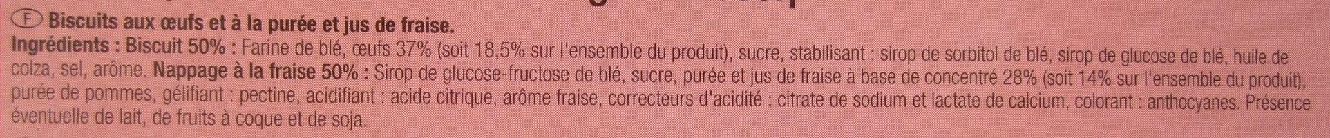 Barquettes - Ingrédients - fr
