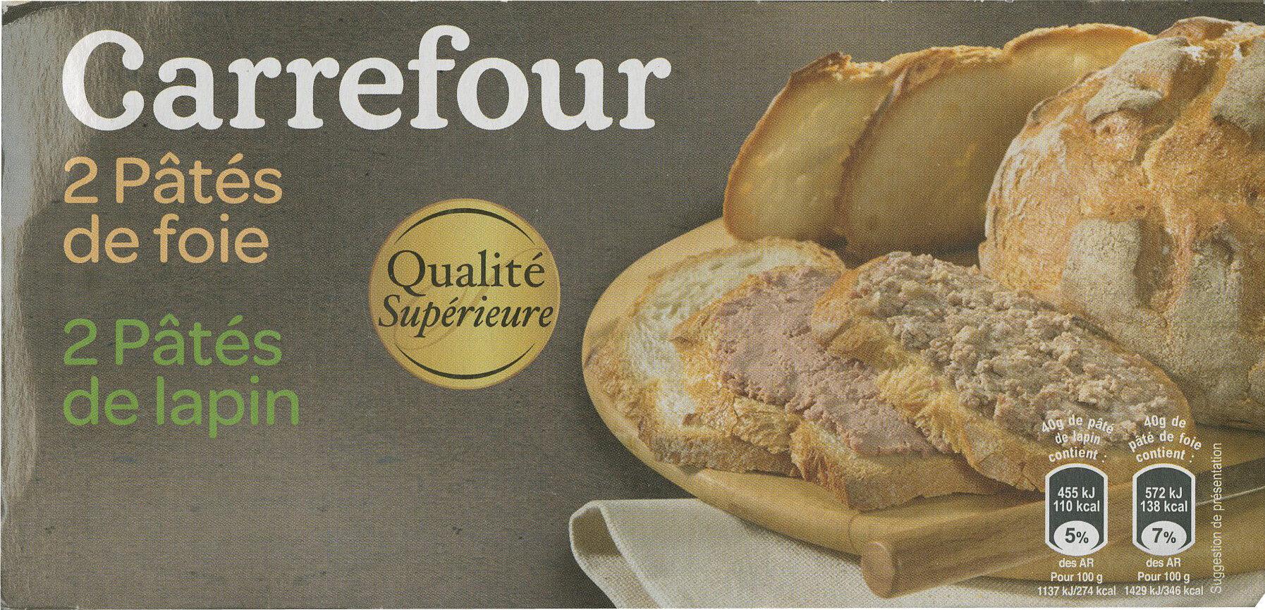 Pâté de foie Pâté de lapin - Produit