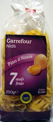 Pâtes d'Alsace IGP Nids - Produit - fr