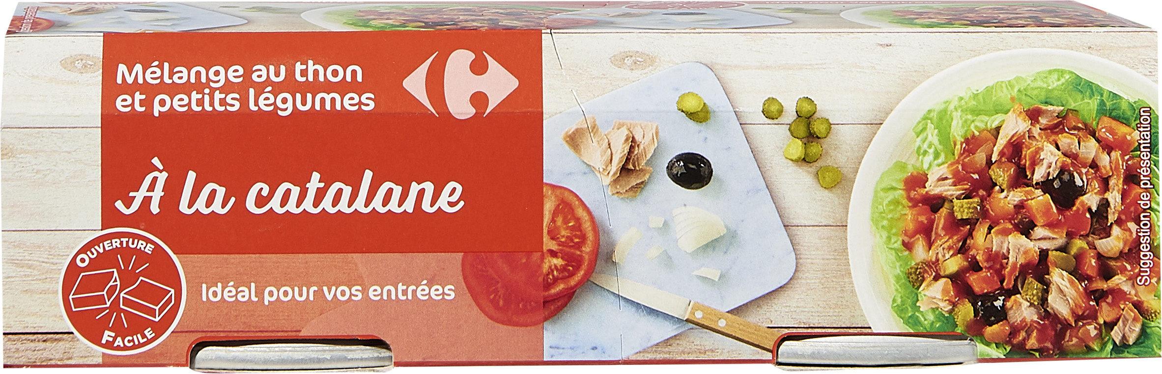 Mélange au thon et petits légumes à la catalane - Produit - fr