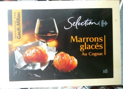 Marrons glacés au Cognac - Produit