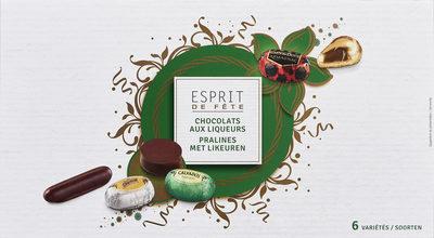 Chocolats aux liqueurs - Produit