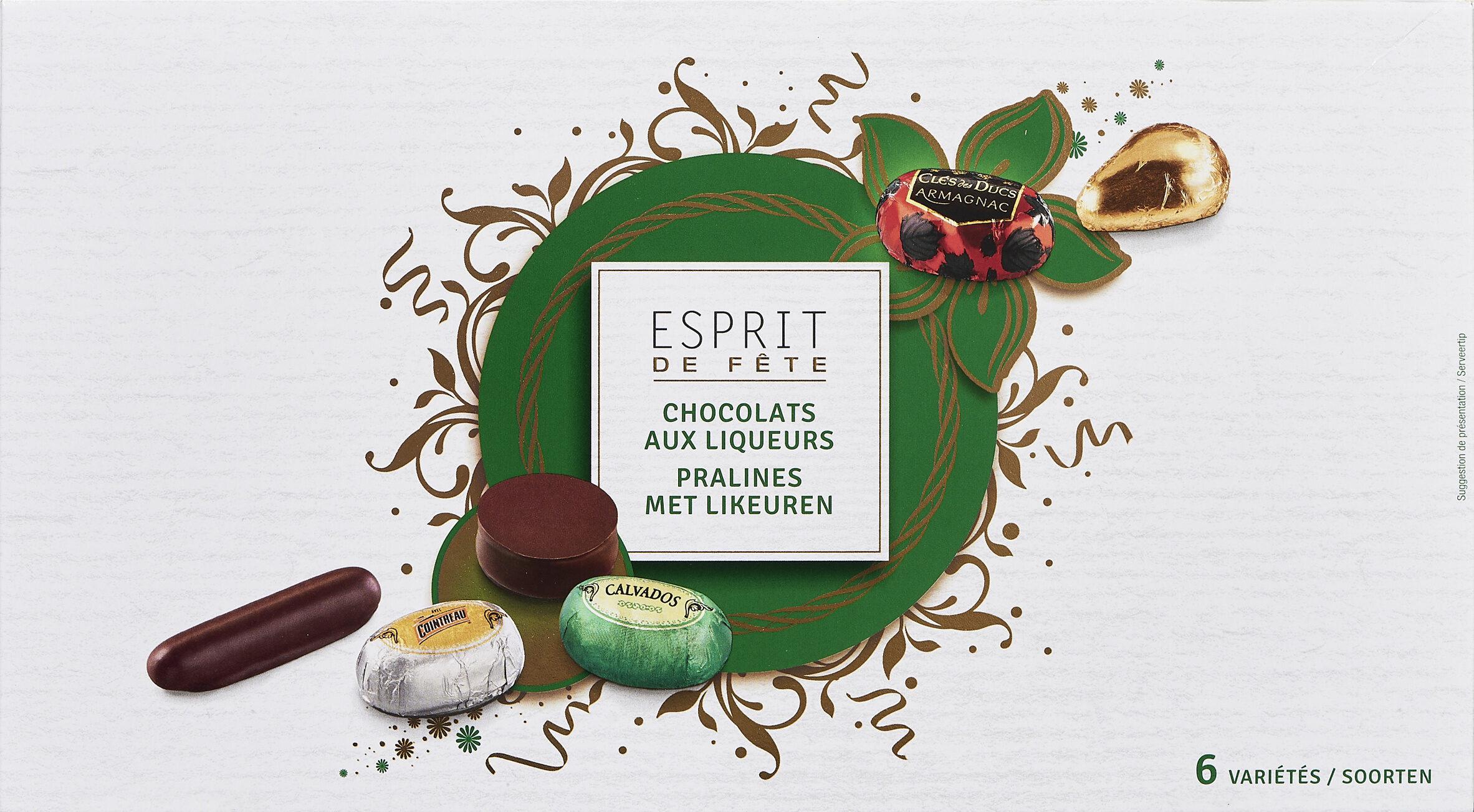 Chocolats aux liqueurs - Prodotto - fr