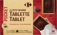 Galletas de mantequilla tableta chocolate - Product - es