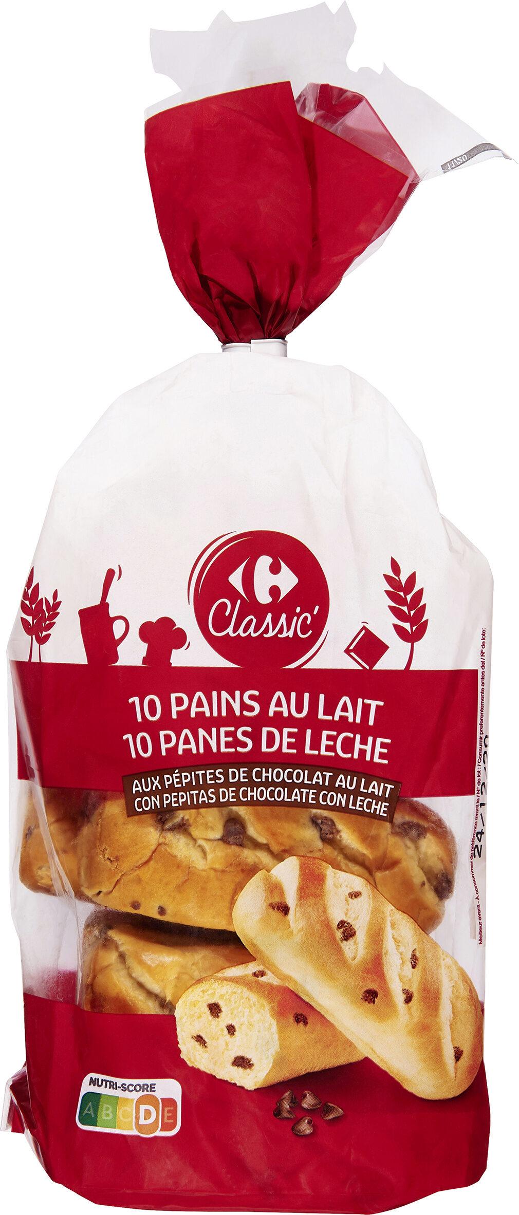 Pain au lait aux pépites de chocolat - Prodotto - fr