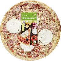 Carrefour La pizza chèvre - lardons fumés - Product - fr