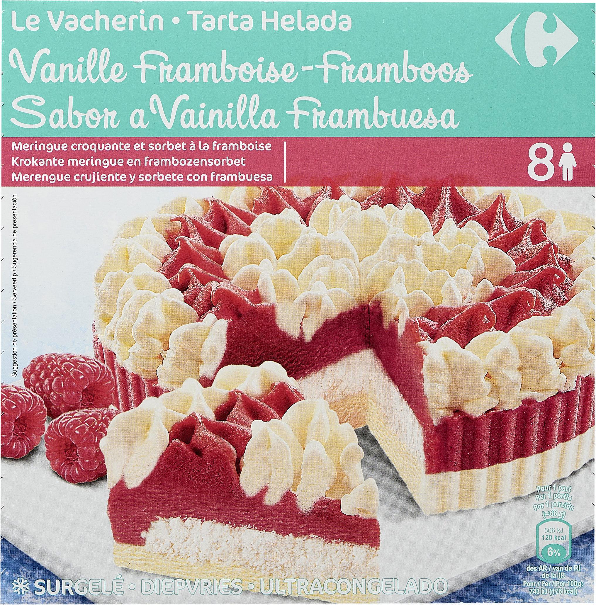 Le vacherin Vanille Framboise - Producto - fr