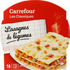 Lasagnes de légumes - Produit