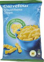 Croustillants goût emmental - Product - fr