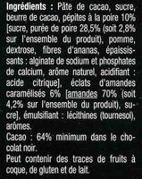 Noirpépitessaveur poire - Ingredients - fr