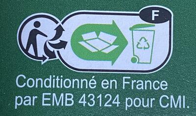Lentilles vertes - Instruction de recyclage et/ou informations d'emballage - fr