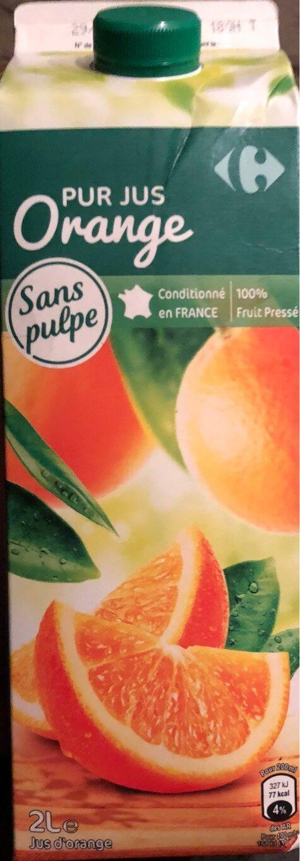 Orange 100 % Pur Fruit Pressé - Product