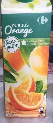Orange 100 % Pur Fruit Pressé - Ingrediënten
