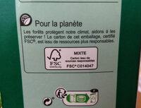 Pur Jus d'orange - Recyclinginstructies en / of verpakkingsinformatie - fr