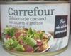 Gésiers de canard cuits dans la graisse de canard - Produkt